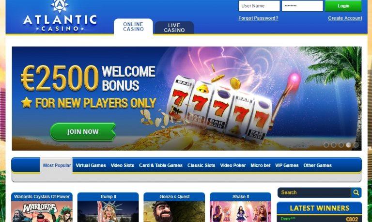 Atlantic casino, comment y jouer ?