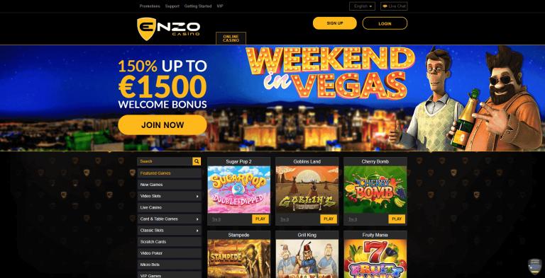 Enzo casino, le meilleur établissement de jeux ?